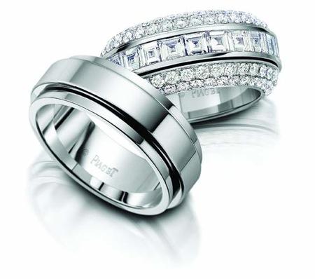 Piaget marka nişan yüzüğü modeli
