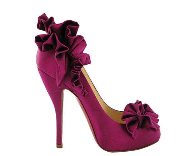 açık mürdüm renkli gece ayakkabısı