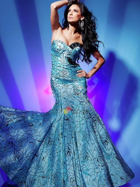 karışık renkli balık kesim elbise