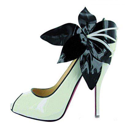 krem ayakkabı modeli