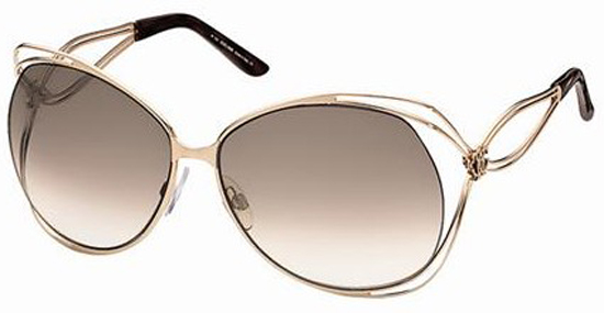 metal şık bayan güneş  gözlük