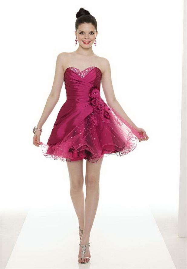 mini mini, taşlı süslü gece elbisesi