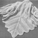 sıra dışı örgü bebek battaniyesi