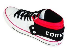 siyah beyaz converse modeli
