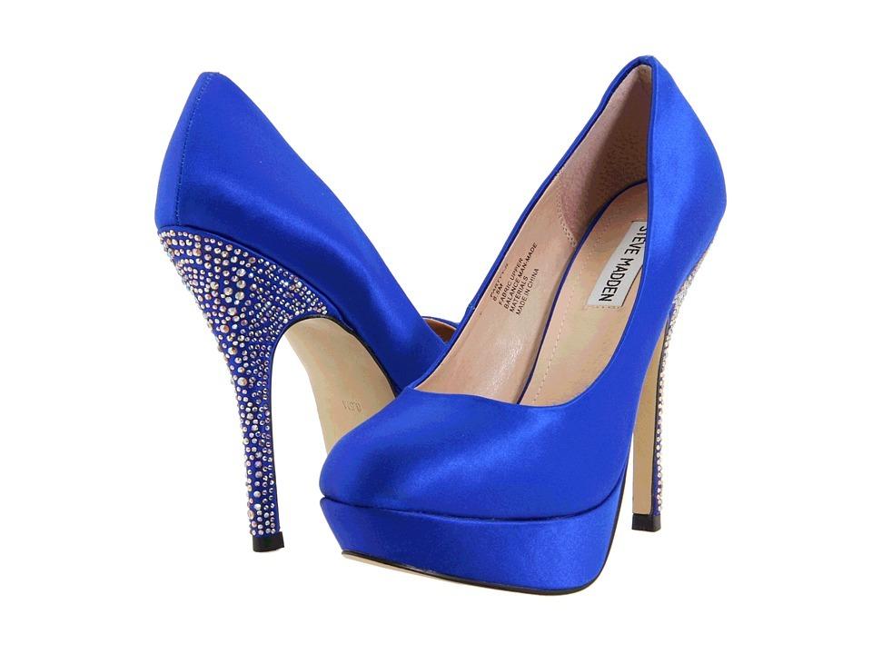 topuğu taşlı gece mavisi ayakkabı modeli