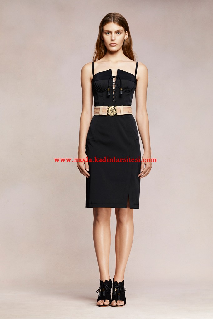 altuzarra siyah elbise modeli