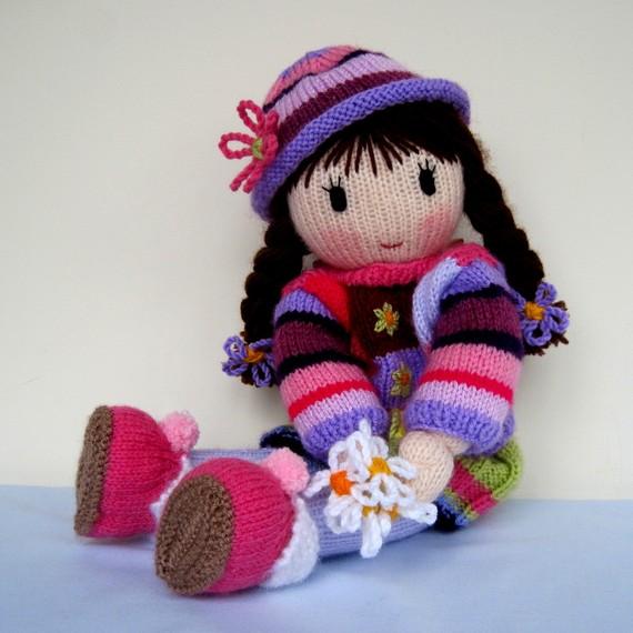 Amigurumi Websites : amigurumi siyah sacli bebek modeli