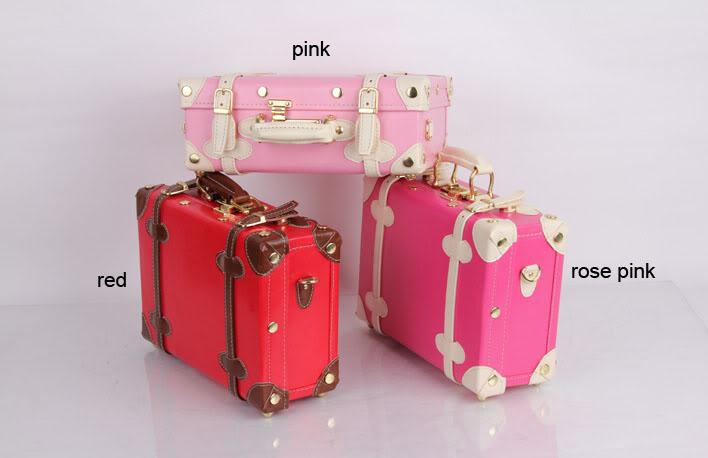 bavul şeklinde farklı makyaj çantası yeni