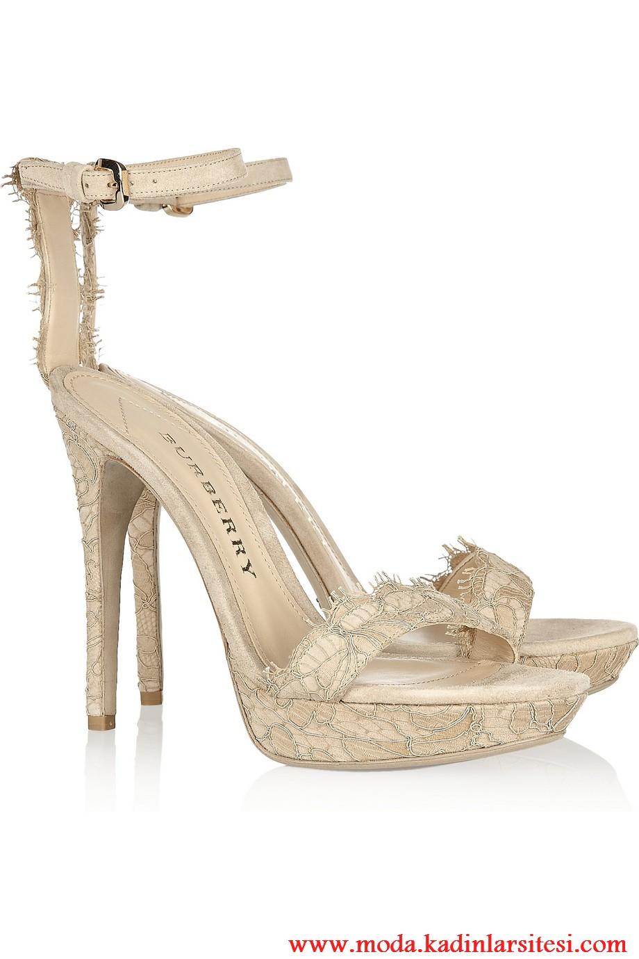 burberry kren ayakkabı modeli
