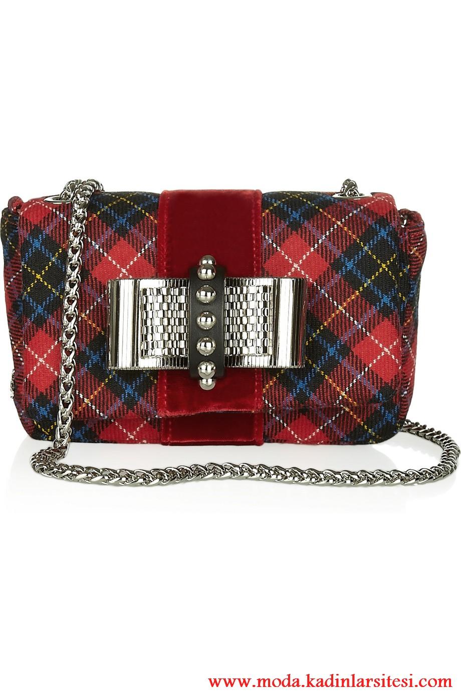 christian louboutin omuz çantası modeli