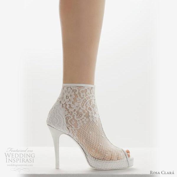 dantelli file gelinlik ayakkabı modeli tasarım