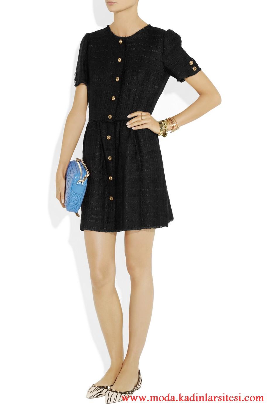 dolce & gabbana gömlek elbise modeli