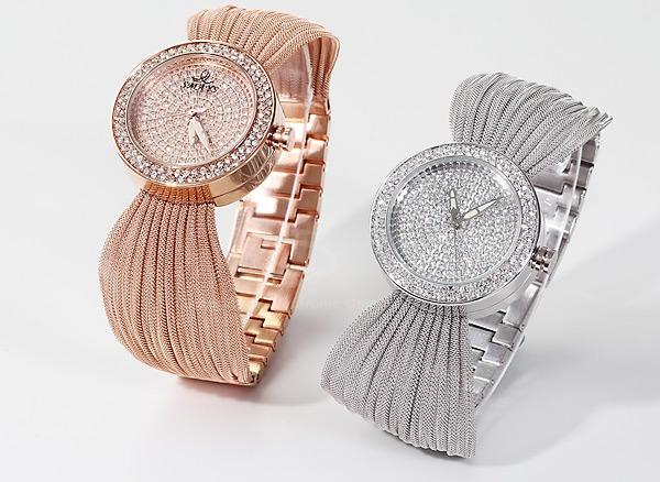 gümüş ve bakır kol saati modeli yeni