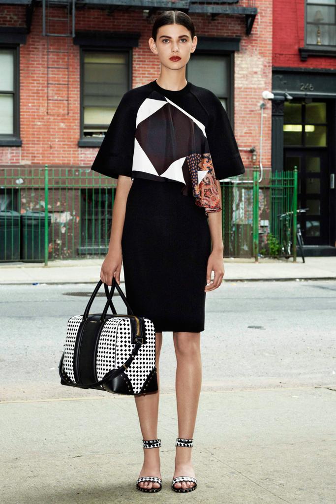 givenchy kısa kol elbise modeli