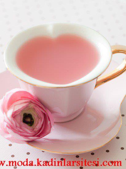 kalp ağızlı çay fincanı modeli