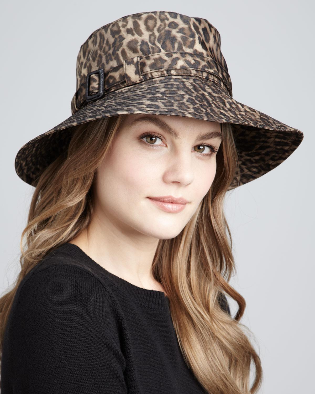 leopar desenli şapka modeli