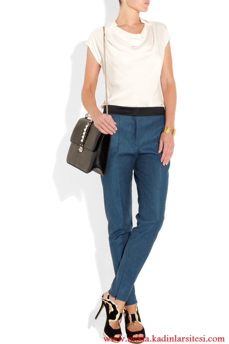 michael kors bluz ve pantolon modeli
