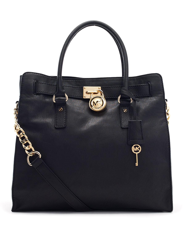 michael kors tasarım siyah çanta modeli