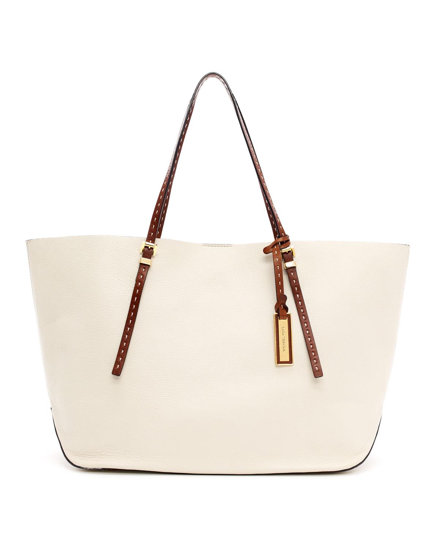 michal kors tasarım beyaz çanta modeli