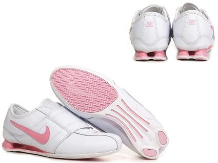 nike beyaz pembe spor ayakkabı modeli