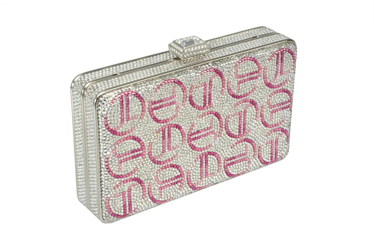 pembe tasarım gece çantası yeni model