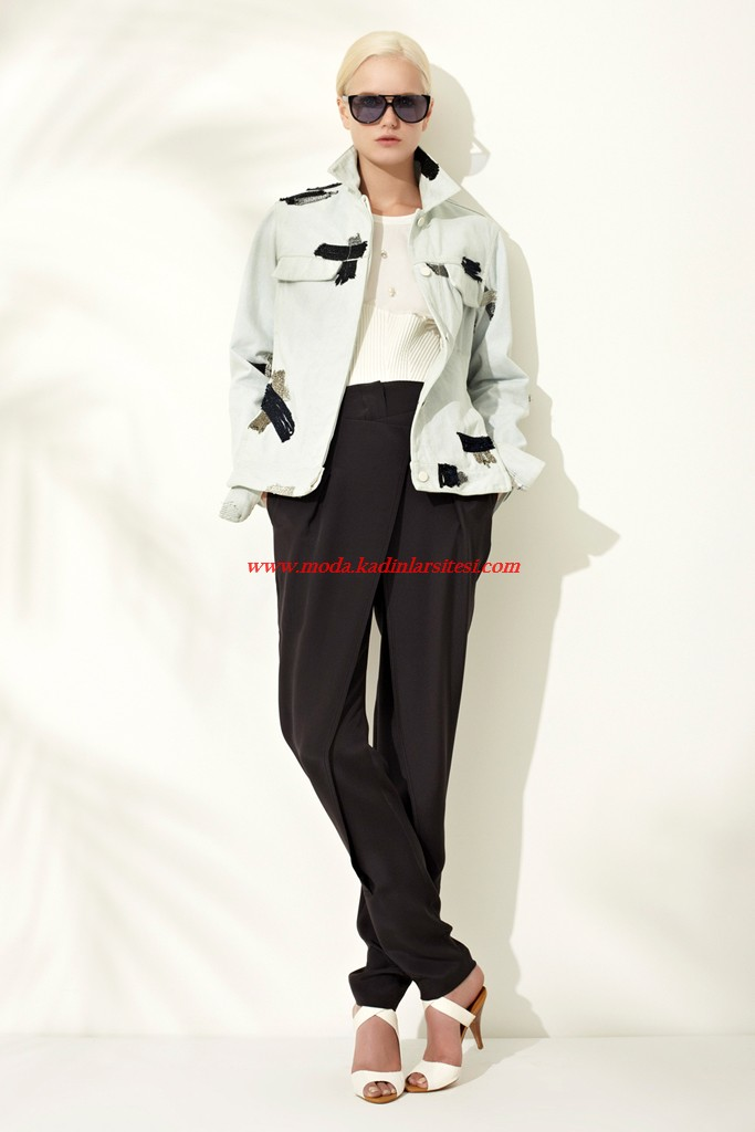 phillip lim beyaz kaban pantolon modeli