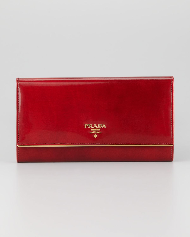 prada tasarım cüzdan modeli