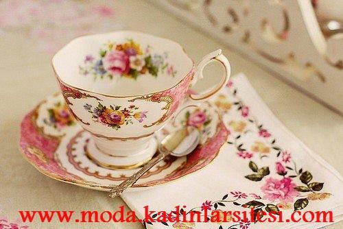 rönesans temalı çay fincanı modeli