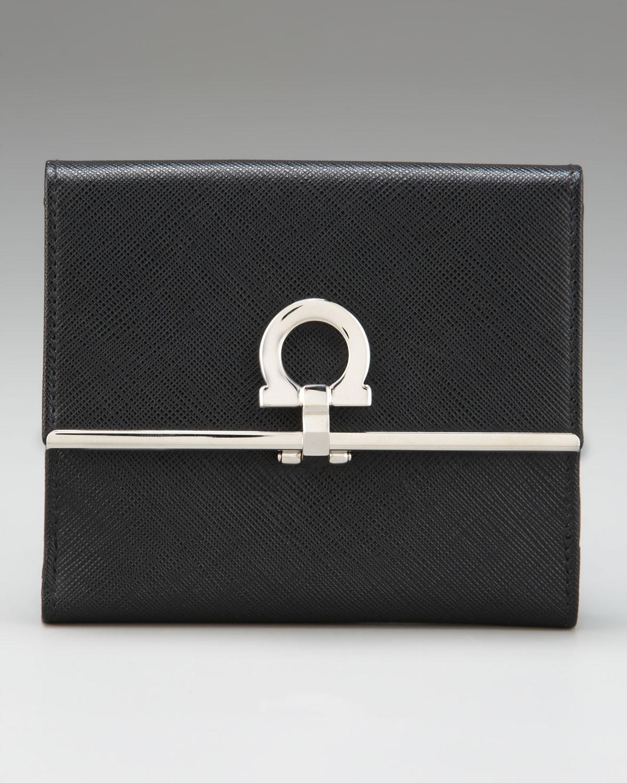 salvatore ferregamo tasarım şık cüzdan modeli