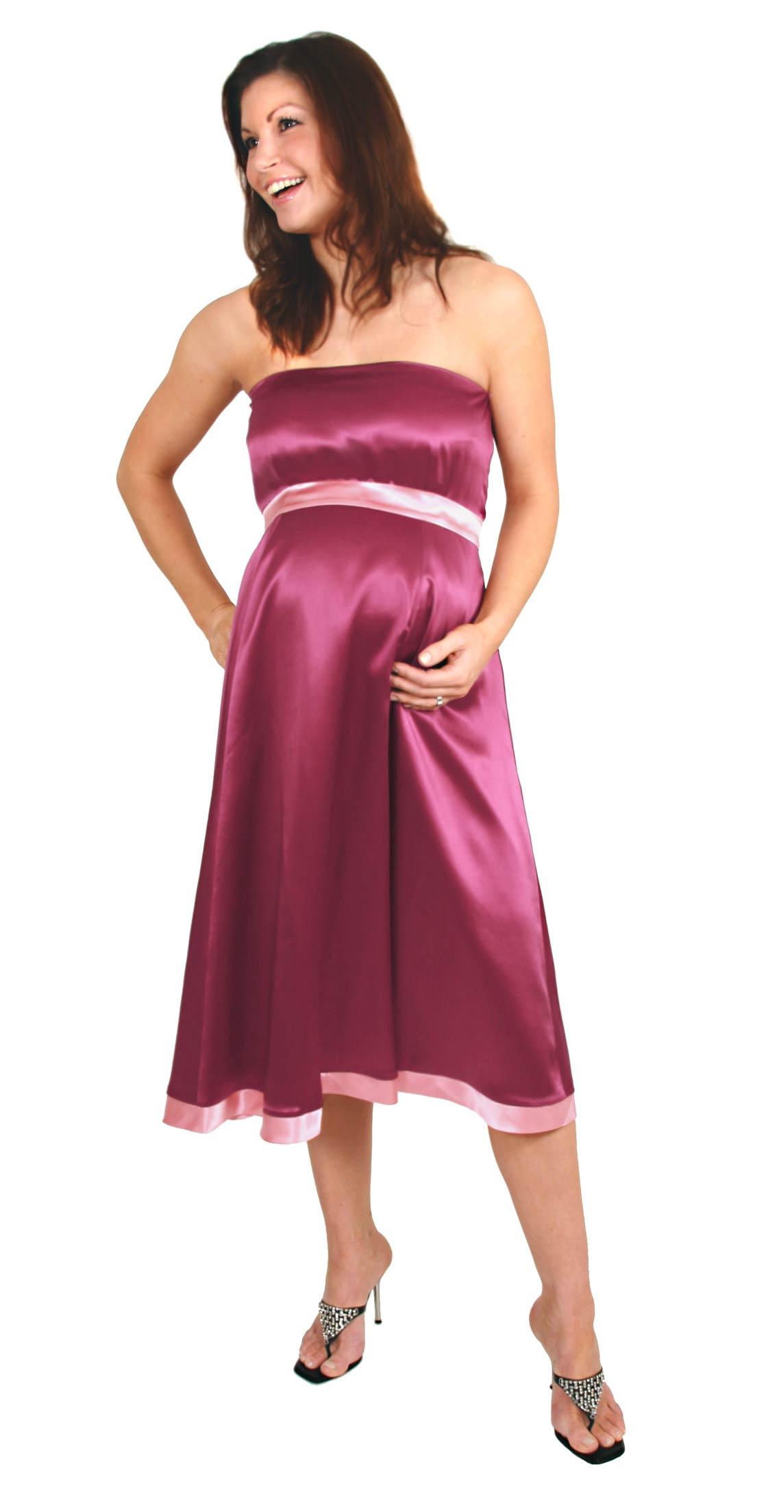 saten hamile elbisesi yeni model
