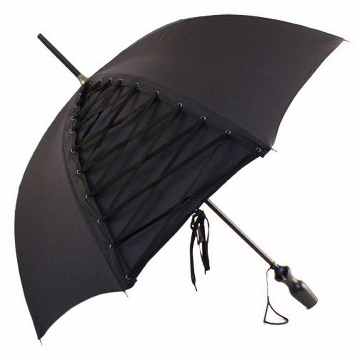 siyah bağcıklı şemsiye modeli