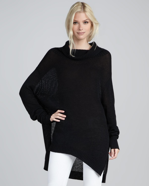 siyah panço model kazak yeni