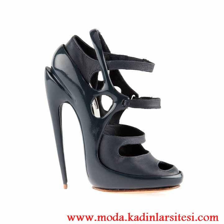 siyah rugan ve deri ayakkabı modeli