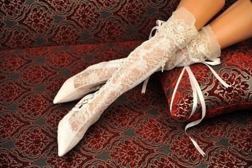 tasarım gelinlik ayakkabı modeli
