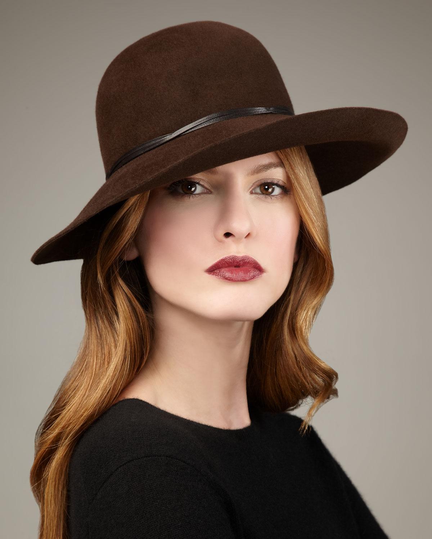 tasarım kahve asil şapka modeli