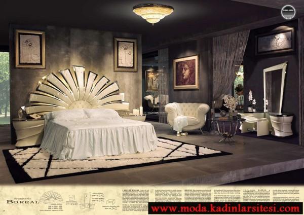 Deluxe yatak odası modelleri özel dizayn yatak odası modeli