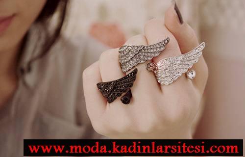 kanatlı yüzük modelleri
