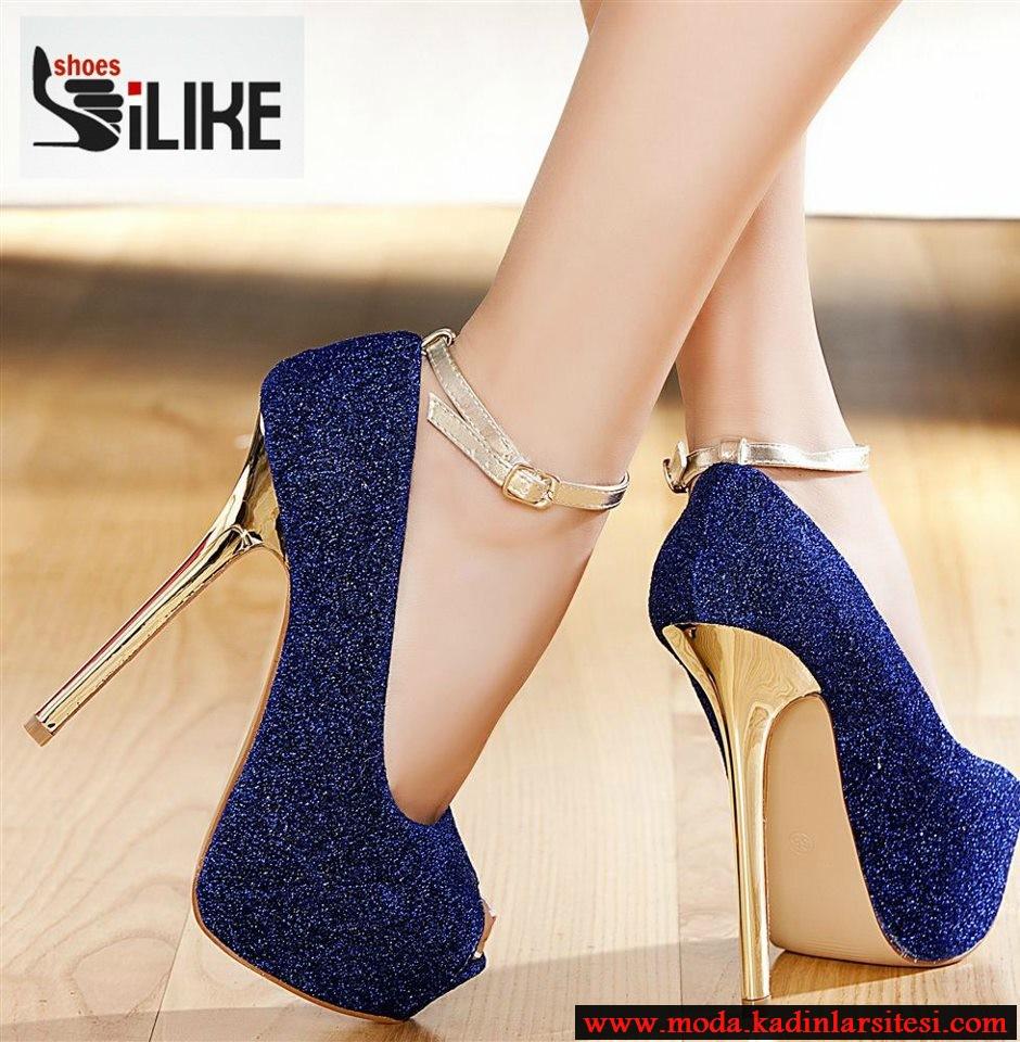 laci simli ayakkabı modeli