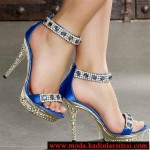 lacivrt dore ayakkabı modeli