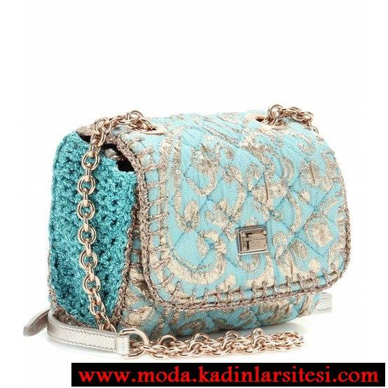 mavi çanta modeli