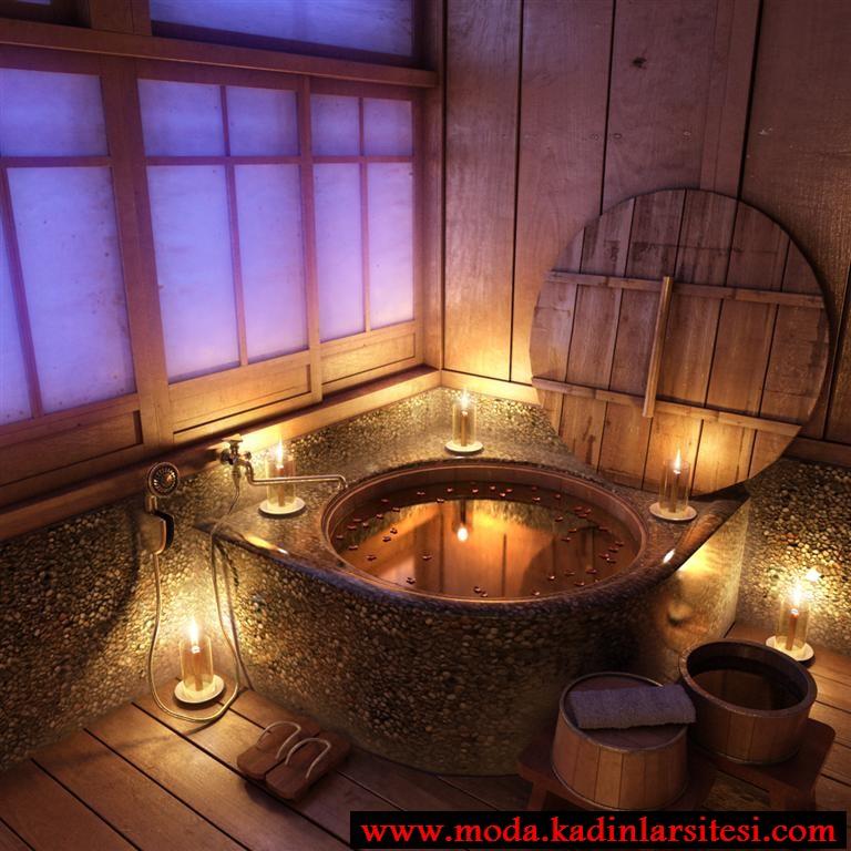 otantik lux banyo modeli
