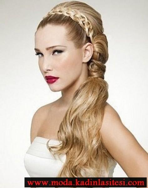 Muhteşem saç modelleri şık farklı saç modeli