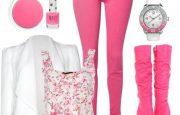 Renkli Pantolon Kombin Modelleri