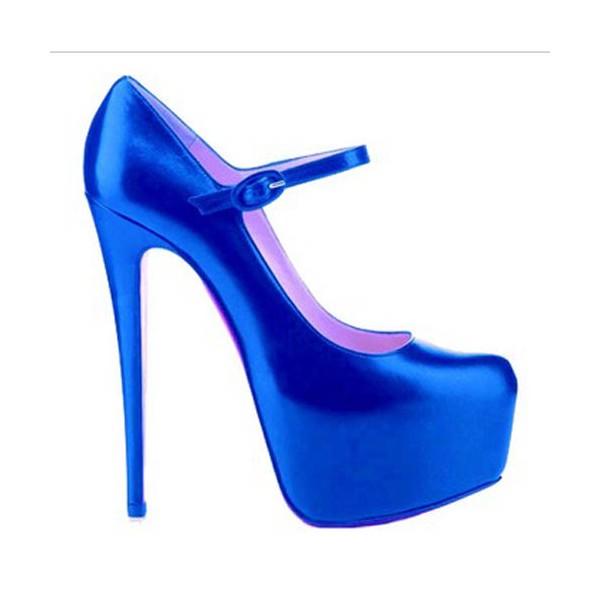 c. louboutin laci saten ayakkabı modeli