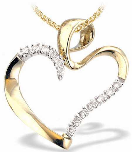 kalp figürlü kolye ucu modeli