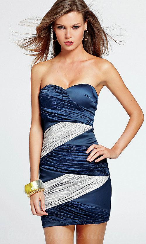 laci gümüş gece elbise modeli