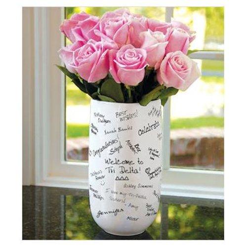 yazı karakterli vazo modeli