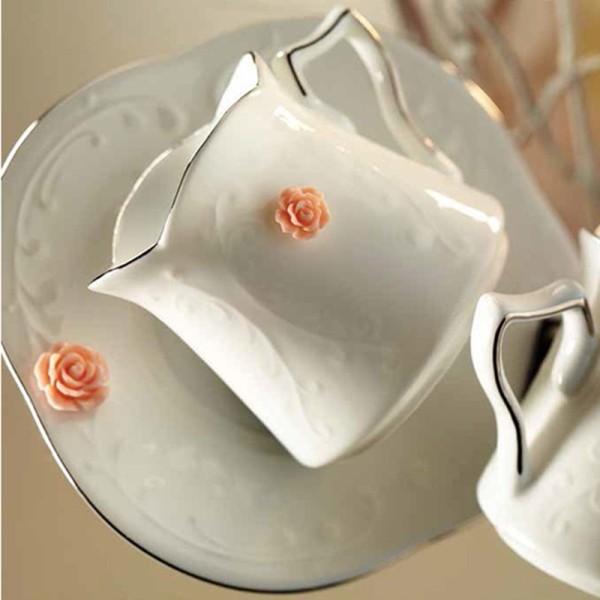 Kütahya Porselen El Yapımı Kahve Takımı
