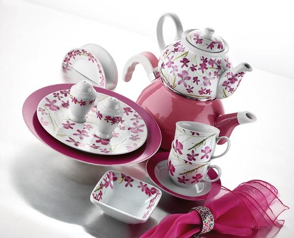 kütahya porselen kahvaltı seti