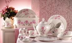 Çiçekli Porselen Takımları
